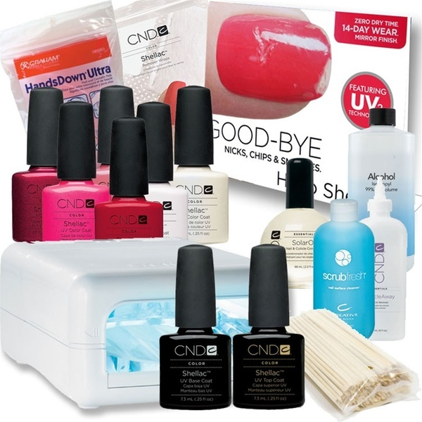 CND Shellac Mini Starter Kit with Programmable CND Shellac UV Lamp