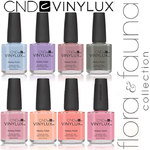 CND Vinylux Polish - Spring 2015 Flora & Fauna Collection - Complete 8 Color Set ()