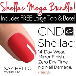 In Stock! CND Shellac Mega Color Bundle!