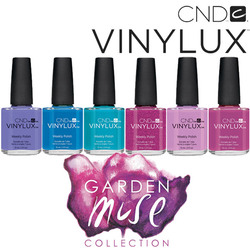 CND Vinylux Polish - 2015 Garden Muse Collection - 6 Piece Color Set - 7 Day Air Dry Nail Polish ()