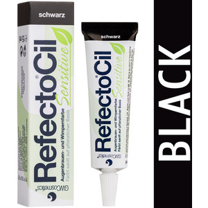 RefectoCil Sensitive Formula - Eyelash & Eyebrow Tint Black (900410)
