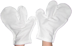 Raw Silk Garshana Gloves (67)