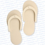 Extra Thick Premium Spa Slippers Beige Case of 288 (PS-BE)