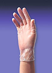 MEDGLUV Vinyl Disposable Gloves Powder-Free 100