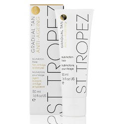 St. Tropez Gradual Tan Plus Anti-Ageing for Face 1.6 fl. oz. - 50 mL. Each Case of 12 (STGTAF50)