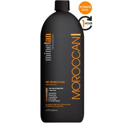 MineTan My Moroccan - 1 Hour Tan Professional Spray Tan Solution 33.8 oz. - 1 Liter (MIS201309)