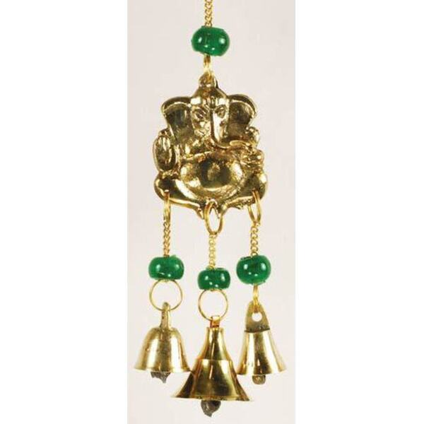 Three Bell Ganesh Wind Chime (FW511)