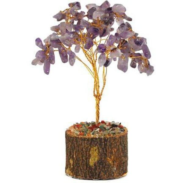 Amethyst Gemstone Tree (GTRAME)