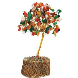 Mixed Agate Gemstone Tree (GTRMIX)
