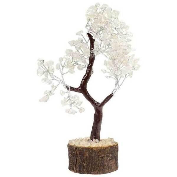 Clear Quartz Gemstone Tree (GTRQZ)