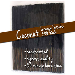 Coconut Incense Sticks 500 Pack (ISCOCX)
