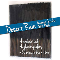 Desert Rain Incense Sticks 500 Pack (ISDESX)