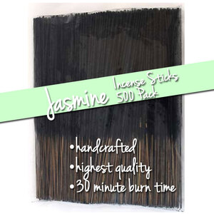 Jasmine Incense Sticks 500 Pack (ISJASX)