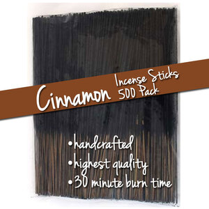 Cinnamon Incense Sticks 500 Pack (ISCINX)