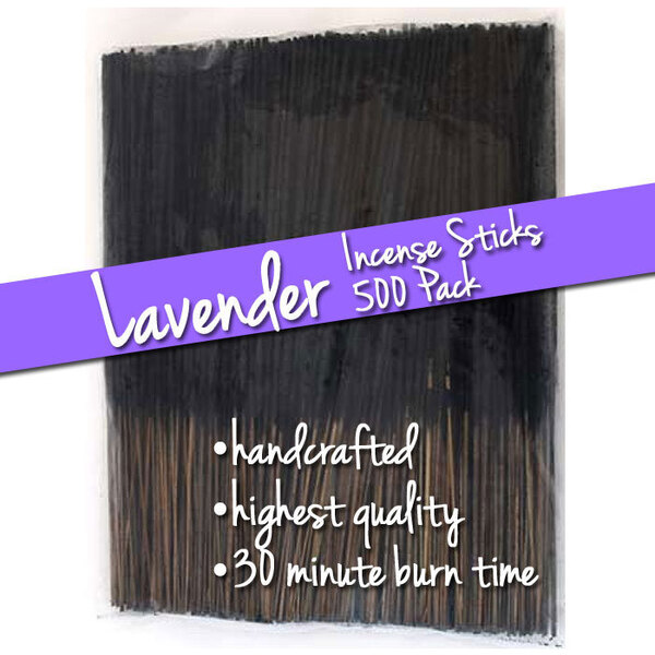 Lavender Incense Sticks 500 Pack (ISLAVX)