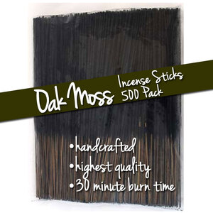 Oak Moss Incense Sticks 500 Pack (ISOAKX)