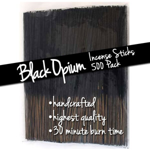 Black Opium Incense Sticks 500 Pack (ISBLAX)