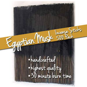 Egyptian Musk Incense Sticks 500 Pack (ISEGYX)
