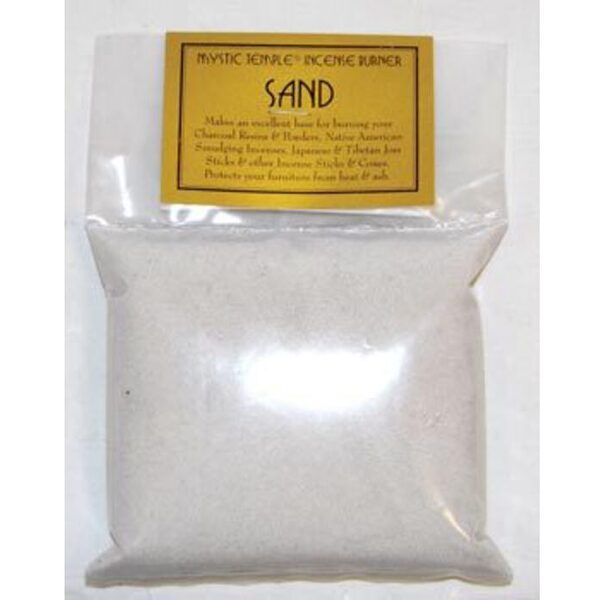 White Incense Burner Sand 1 Lb. (IBSWH)