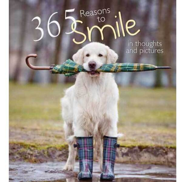 365 Reasons for Smiling: In Thoughts and Pictures - Hardcover Book by White Star (B365REA)