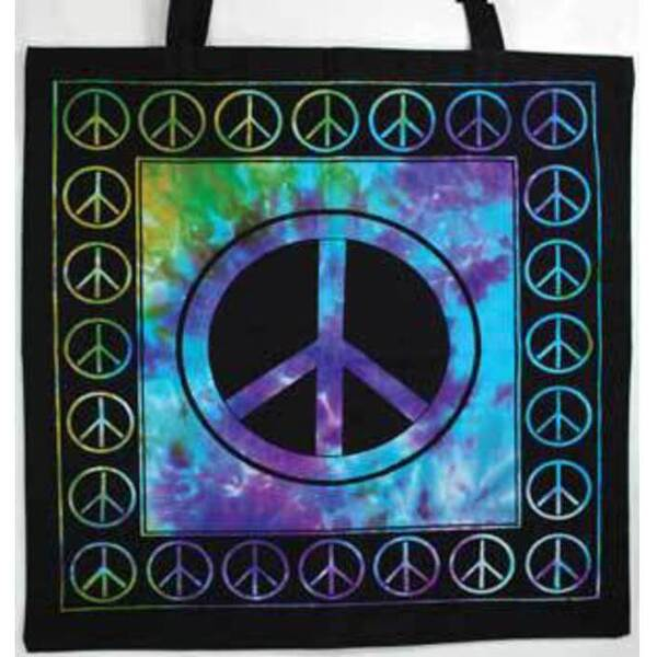 "Peace Sign Tote Bag 18"" x 18"" (RB74PE)"