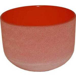 "8"" Crystal Singing Bowl - Orange (FSB003)"