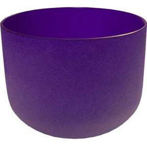 "8"" Crystal Singing Bowl - Purple (FSB008)"