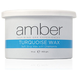 Turquoise Wax Can 14 oz. by Amber Products (AMB106)