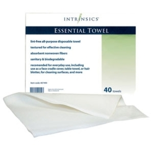 Essential Towel 40 pack Case of 10 Packs by Intrinsics (INT407490)