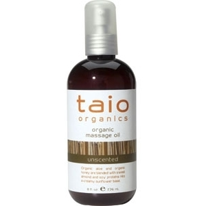 Unscented Massage Oil 8 oz. by Taio Organics (TO410-U)