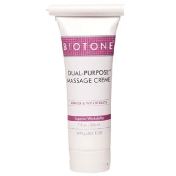Dual Purpose Massage Crème 7 oz. by Biotone (BIDP7)