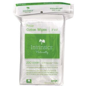"2"" X 2"" Cotton Gauze 200 per Sleeve 25 Sleeve Case by Intrinsics (INT407101)"