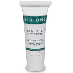Herbal Select Crème 7 oz. Refillable Tube by Biotone (BIHSC7)
