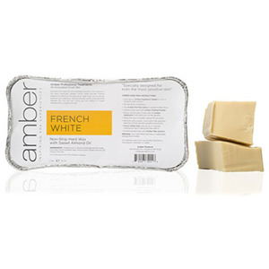 French White Wax 2 Lb. Block by Amber Products (AMB140)