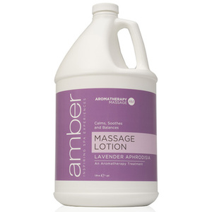 Lavender Massage Lotion 1 Gallon by Amber Products (AMB530-L)