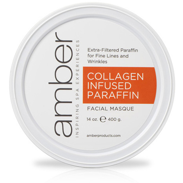 Collagen Infused Facial Paraffin 14 oz. by Amber Products (AMB192-COS)