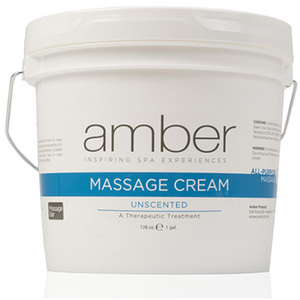 Massage Cream - Unsccented 128 oz. (533-U)