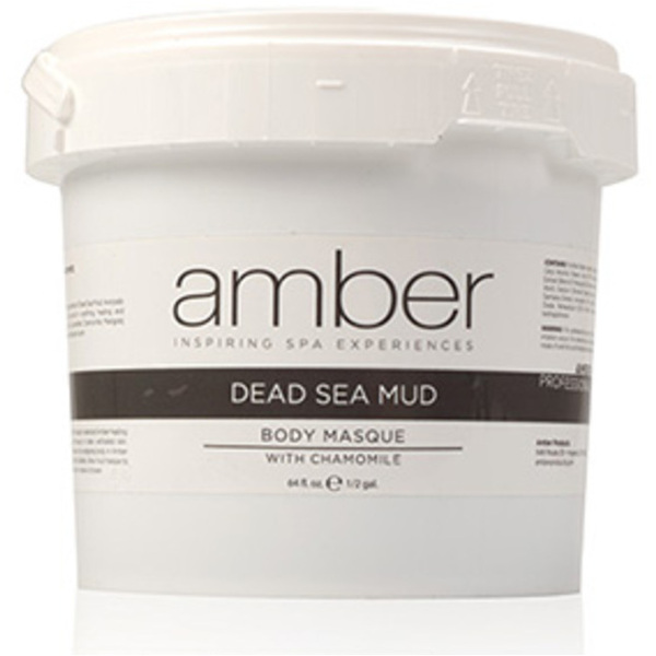 Dead Sea and Chamomile Mud Masque 64 oz. by Amber Products (AMB637-DS)