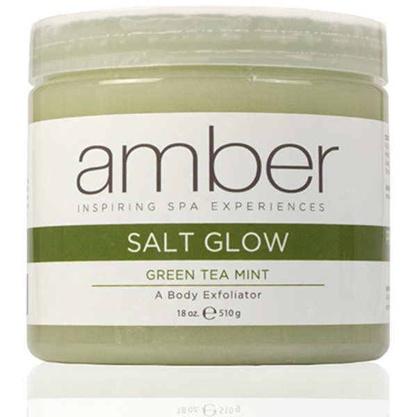 Exfoliating Salt Glow - Green Tea Mint 18 oz. (720-GTS)