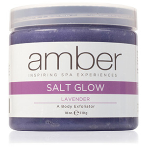 Lavender Aphrodisia Salt Glow 16 oz. by Amber Products (AMB720-LS)