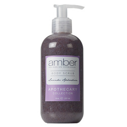 Lavender Aphrodisia Body Scrub 11 oz. by Amber Products (AMBR652-L)