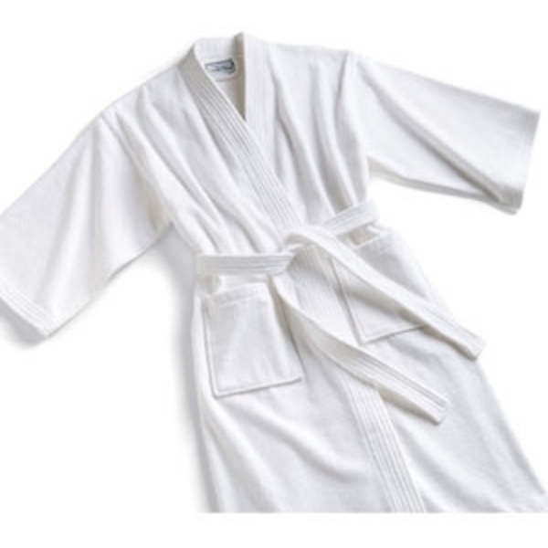 Terry Kimono Robe White XXL by Boca Terry (SSSW068)