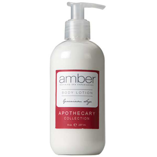 Geranium Sage Body Lotion 8 oz. by Amber Products (AMBR654-GS)