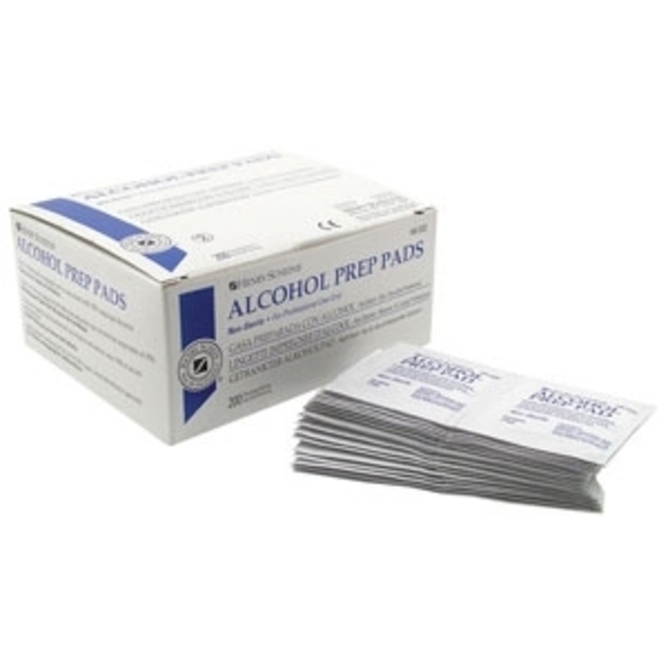 Alcohol Pads 200 Pack (SSDIS014)
