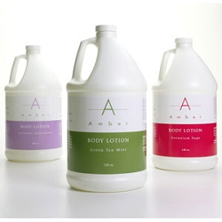 Geranium Sage Body Loiton 1 Gallon by Amber Products (AMB654-GSG)
