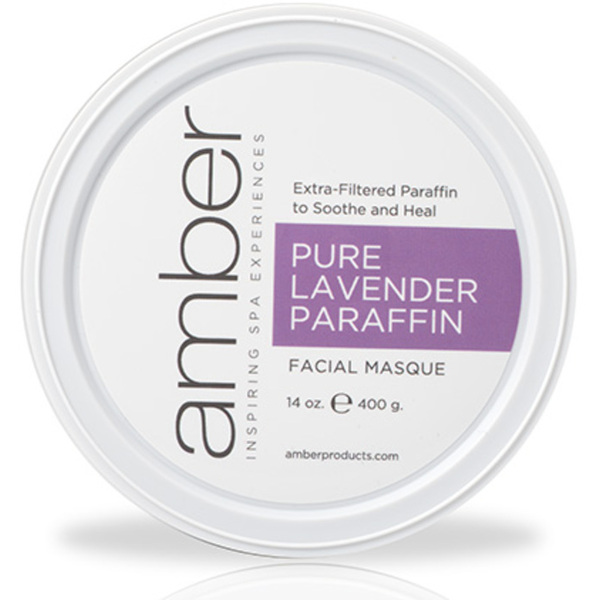 Lavender Infused Facial Paraffin 14 oz. by Amber Products (AMB192-LS)