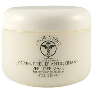 Pigment Relief Antioxidan Peel Off Mask by Ayur-Medic Skincare (AM029)