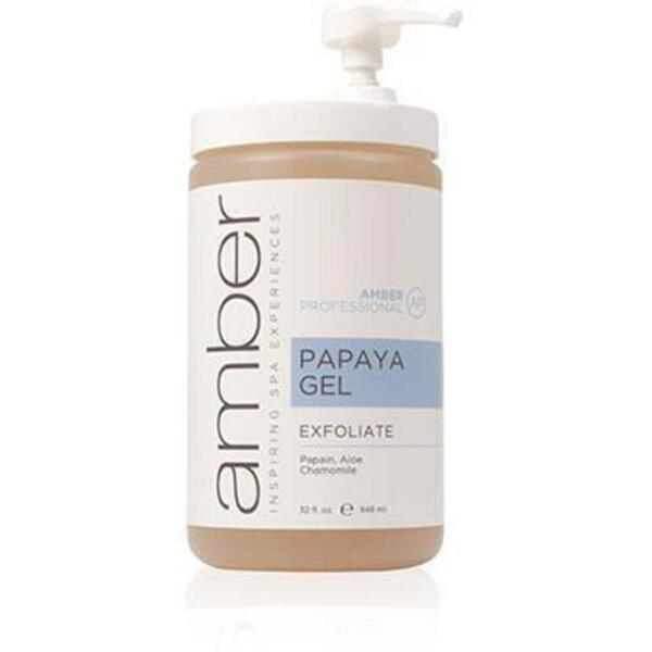 Papaya Gel 32 oz. by Amber Products (AMBQ216)