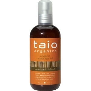 Massage Oil Mandarin Blend 8 oz. by Taio Organics (TO410-M)
