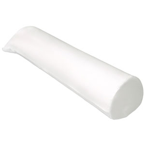 "8"" X 26"" White Bolster Cover by Simon West (MIC-04)"